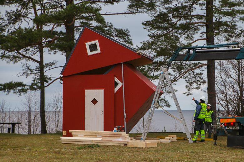"""Baltic seashore foldable cabin """"Brette 20"""""""