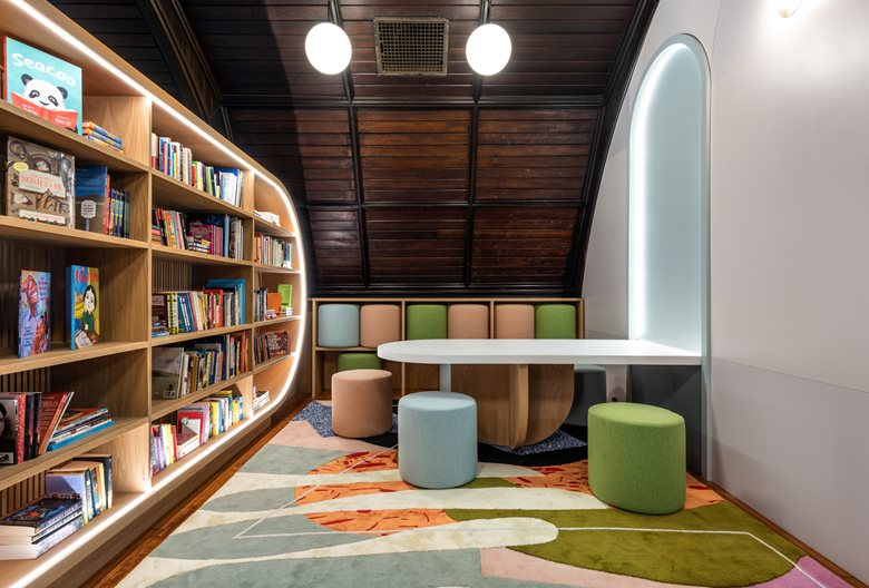 New Children's Library at Concourse House
