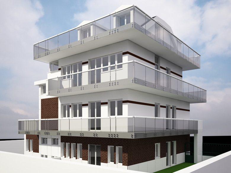 Demolizione e ricostruzione fabbricato per civile abitazione