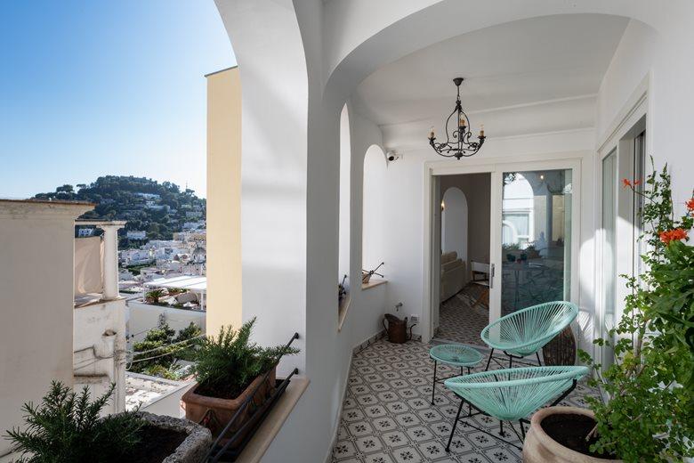 Gouache House   Capri Island