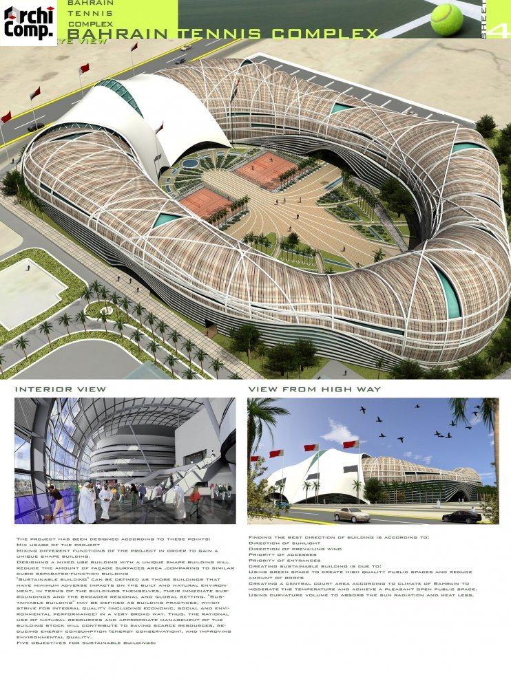 Bahrain International Tennis Complex