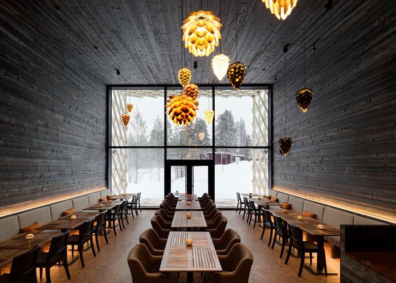 Arctic TreeHouse Hotel Restaurant
