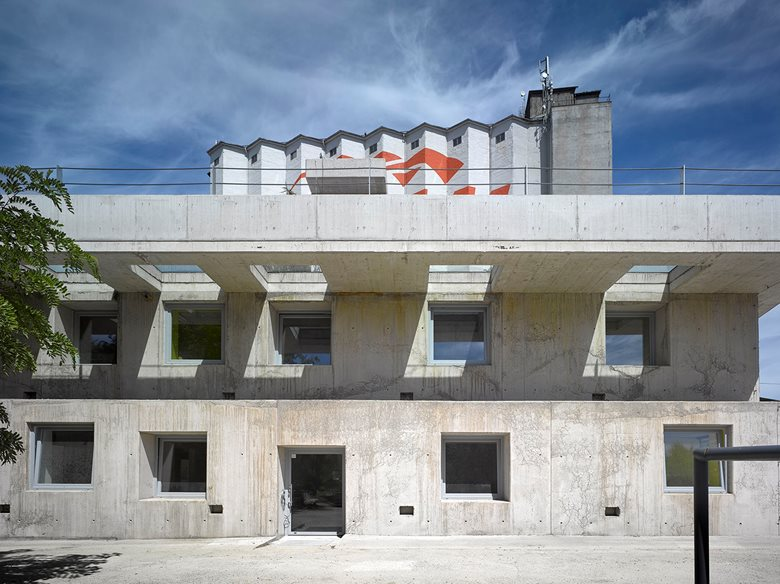 Administration building Strančice