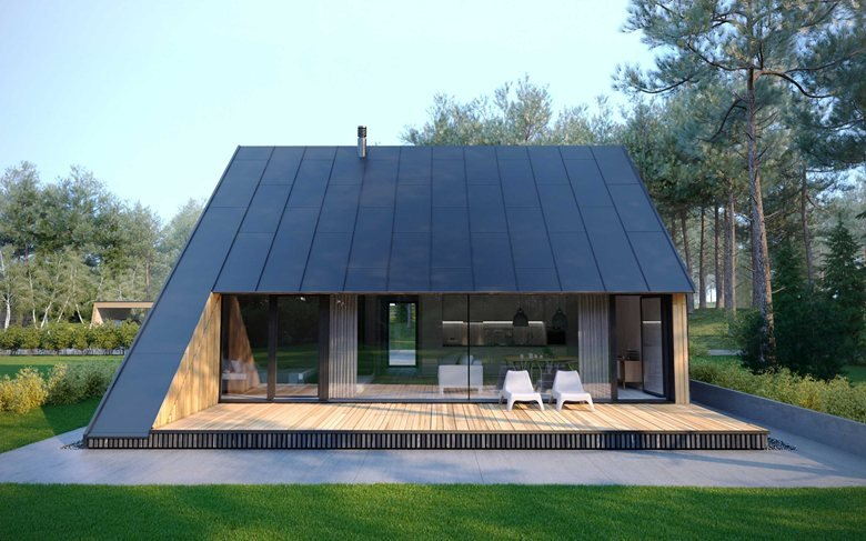 Live in wood B | AFFORDABLE MODERN PREFABRICATED HOUSE