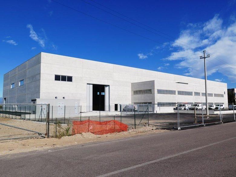MEP Marine Equipments Pellegrini - Capannone Industriale in C.A.P. di 5.000 mq con copertura a Shed e palazzina uffici di 1.000 mq.