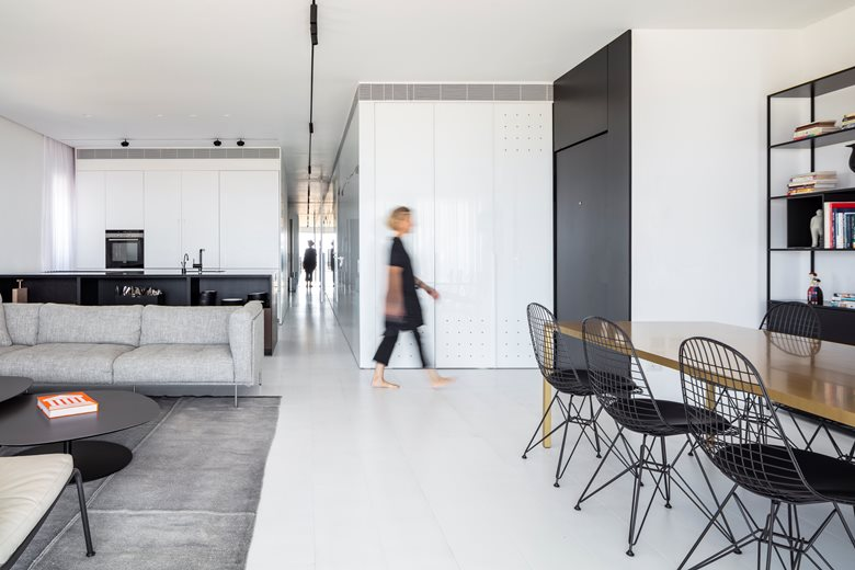 SDV view apartment | Axelrod Architects
