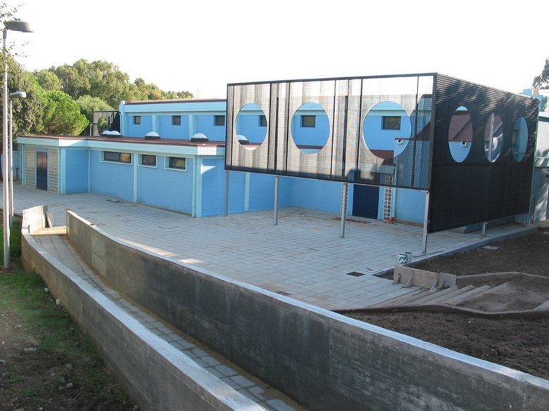 ristrutturazione della piscina comunale di portoscuso (CI) sardegna