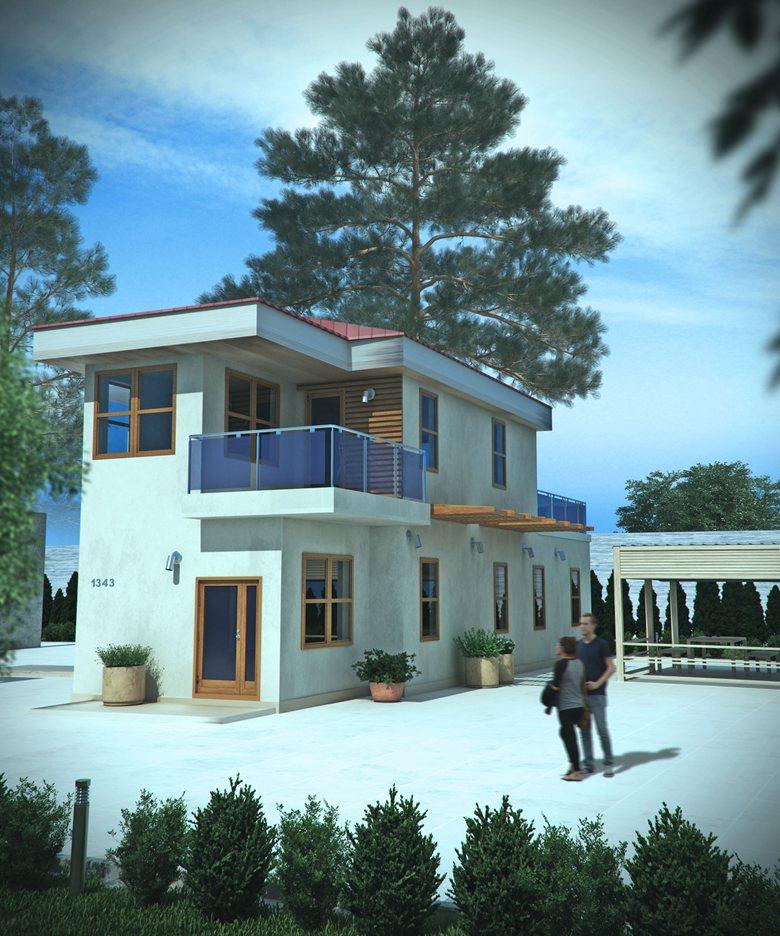 Interior House, Exterior House, FL