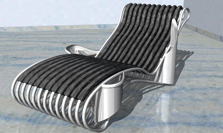 Chaise longue - Onda
