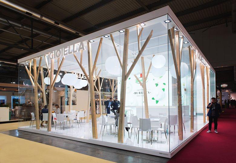 Exhibition Stand : Exhibition stand gioiella latticini mina ignazzi