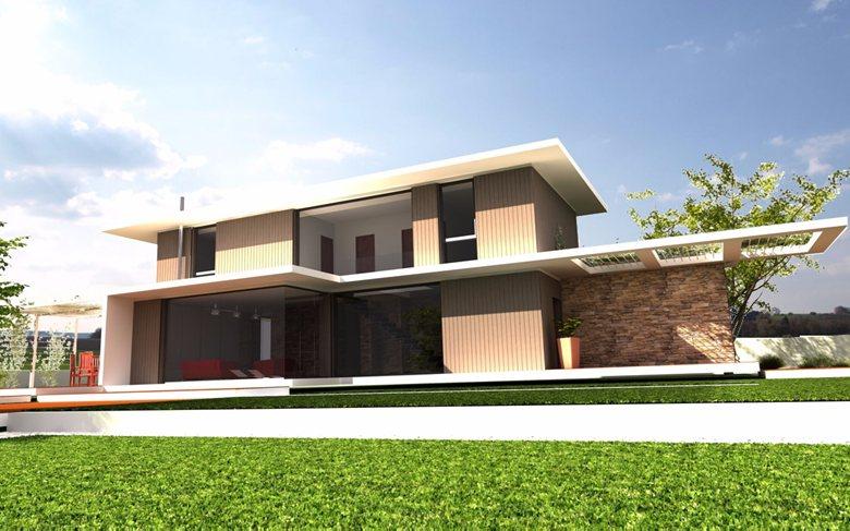 Villa con struttura in XLAM