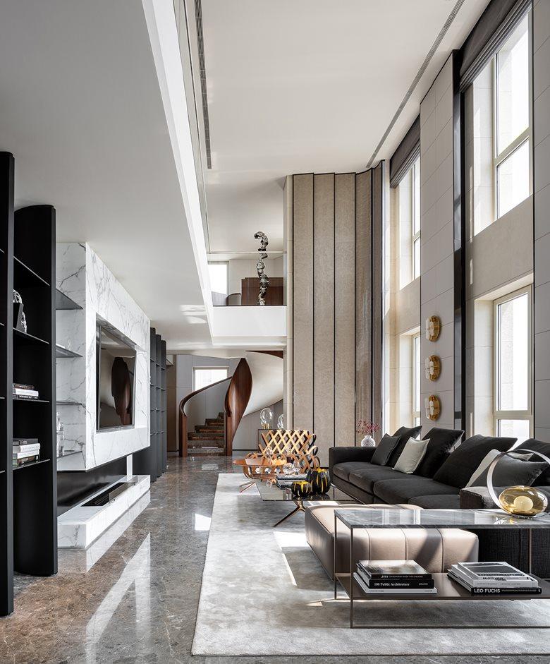 Penthouse of Vanke Metropolis No. 79 in Hangzhou