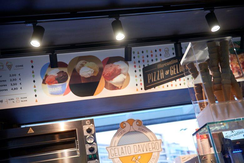 Mercantina Kiosc/Quiosque Ice-Cream & Pizza shop, Lisbon, Portugal