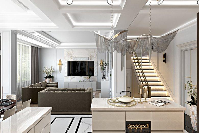 Apartment Design. 3D Rendering in New York | Archicgi com
