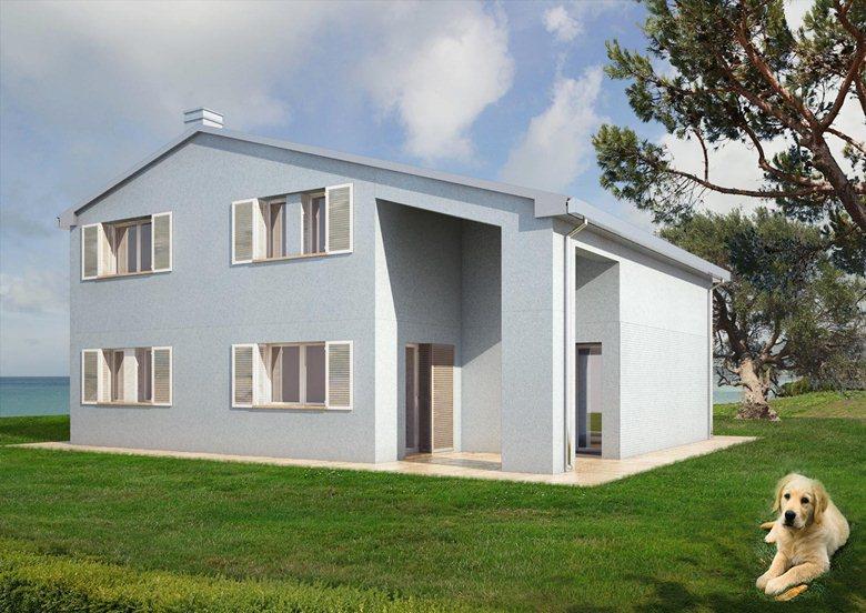 Progetto di casa a catalogo - Villa Erica
