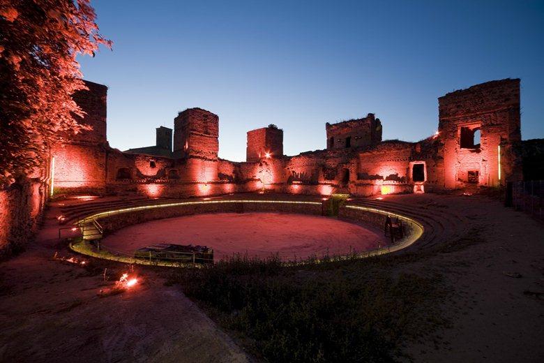 Iluminación Castillo de Buitrago