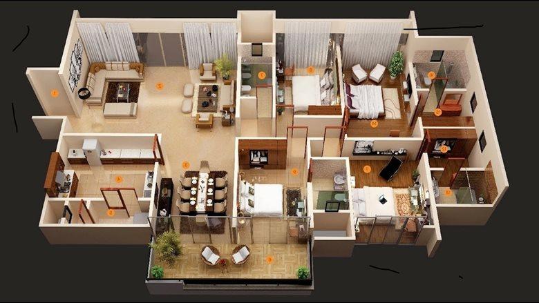 House bedroom design