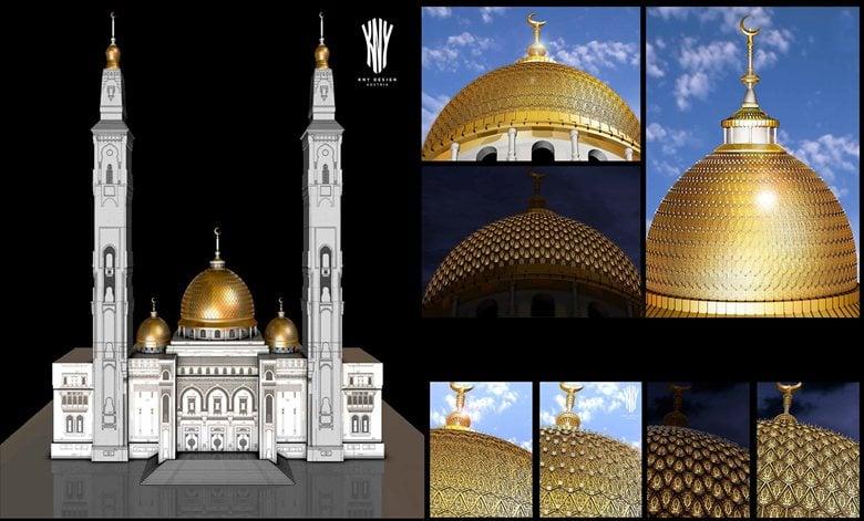 Mosque Lighting