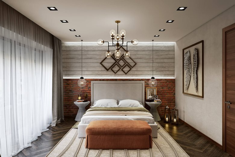 40d Bedroom Rendering Contemporary Design ArchiCGI Mesmerizing Bedroom 3D Design