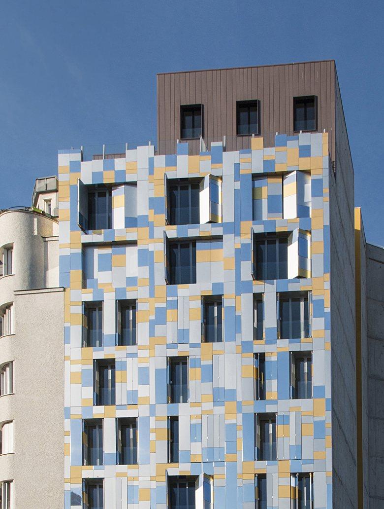 Social housing, Quai de Charente