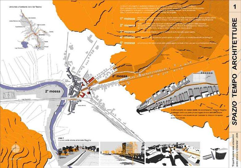 Riqualificazione aree adiacenti il centro storico di Umbertide (