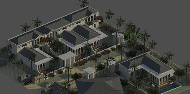 Villa complex Catalina , island of Anguilla