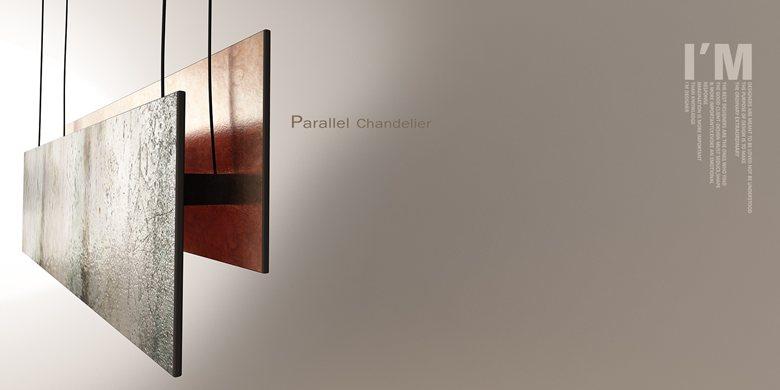 Parallel chandelier