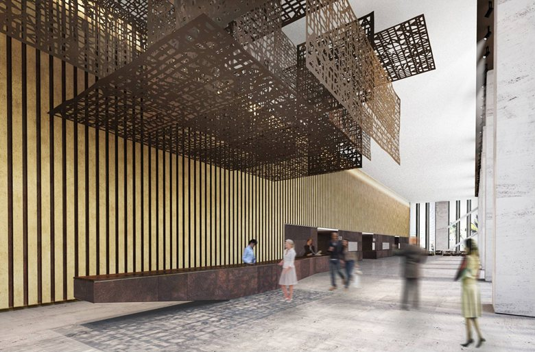Hainan Tower interior design