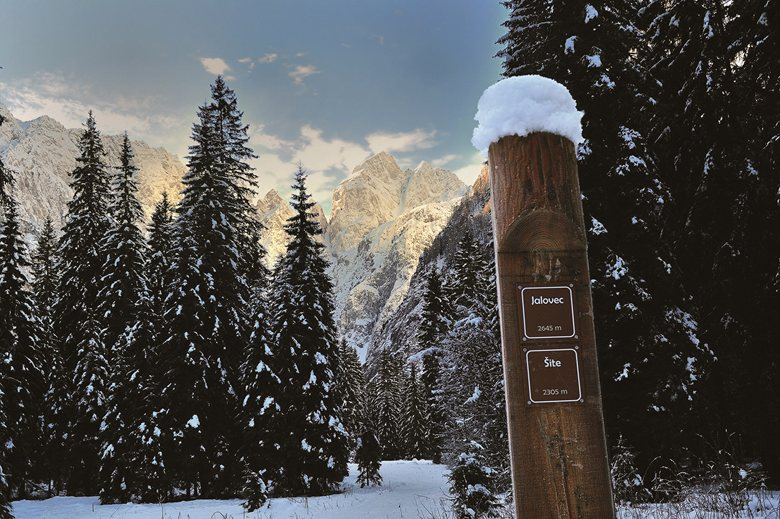 Planica valley trail