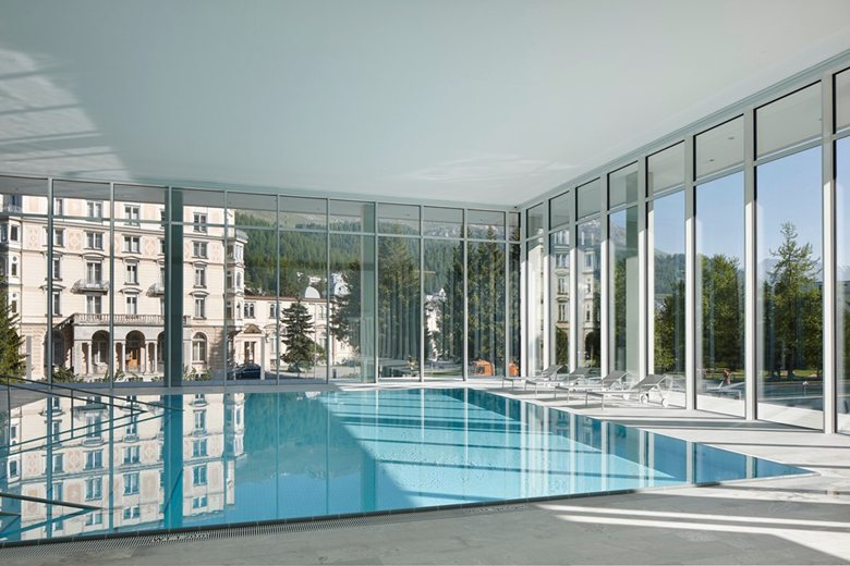 OVAVERVA indoor swimming pool, spa and sports centre St. Moritz