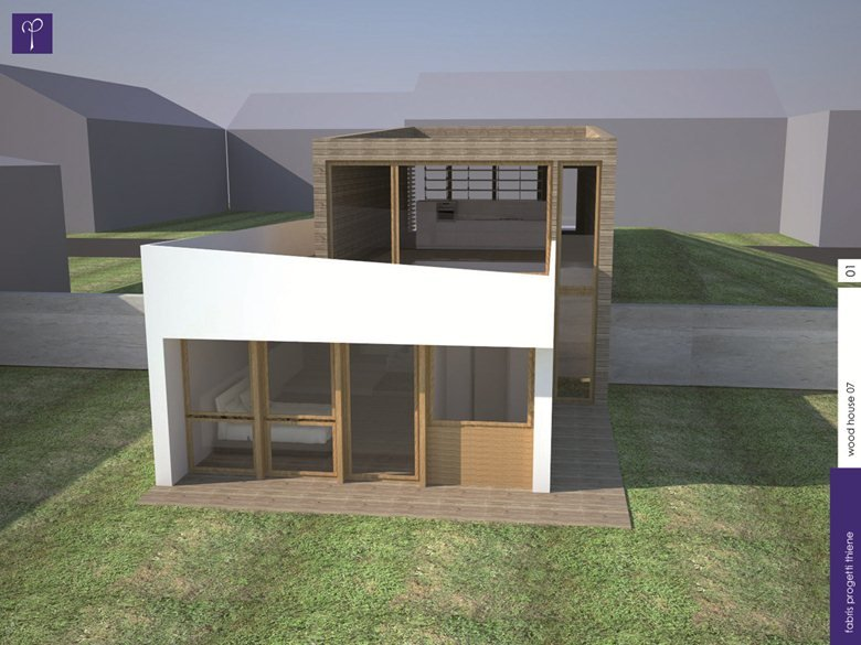 The wood house_one