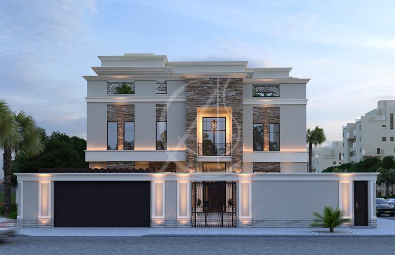 Modern Classic House Design   Comelite Architecture ...