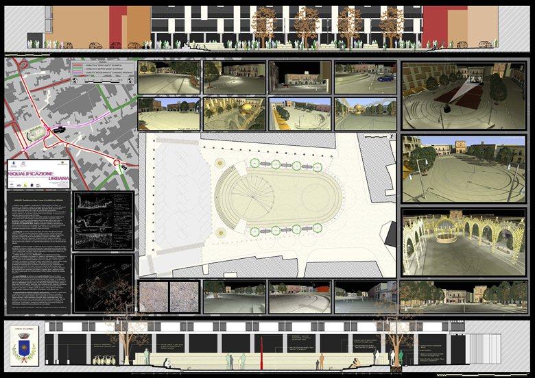 Piazza del Sole a Calimera (Le) - Workshop Riqualificazione Urbana
