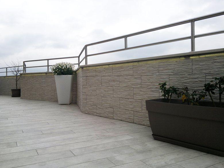 Torino u illuminazione led di un terrazzo lelide by epsilon