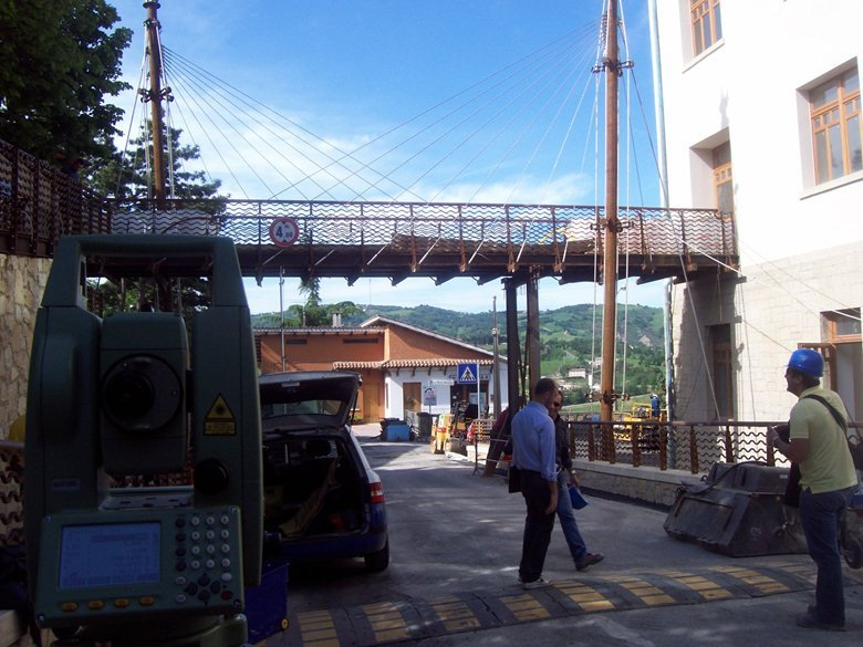 Collaudo Ponte pedonale in località Faetano (RSM)