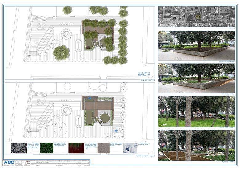 Riqualificazione Aiuola Piazza San Pasquale - Napoli - Progetto preliminare