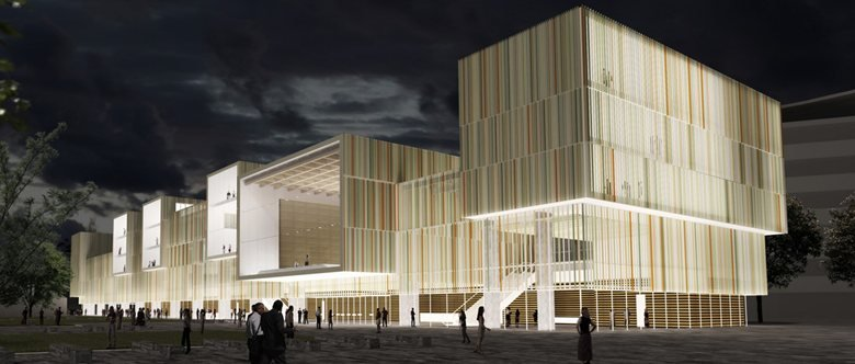 Helsinki National Library Design Competition Picture Gallery