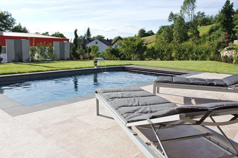 Private pool - prefabricated series
