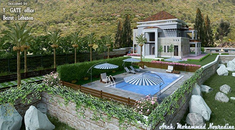 villa in sawwaneh , byblos ( jbeil ) .