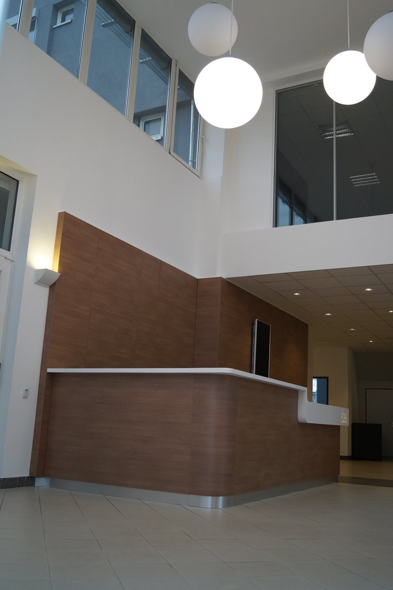 New Corian® reception by Rexfilm and Luminis ltd.