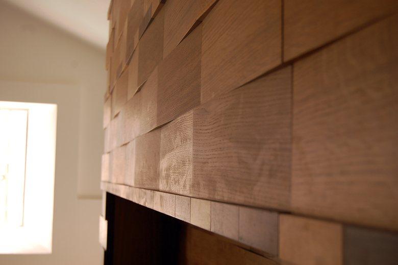 Rivestimento tetto e pareti, soggiorno villa | Ferrantelli ...