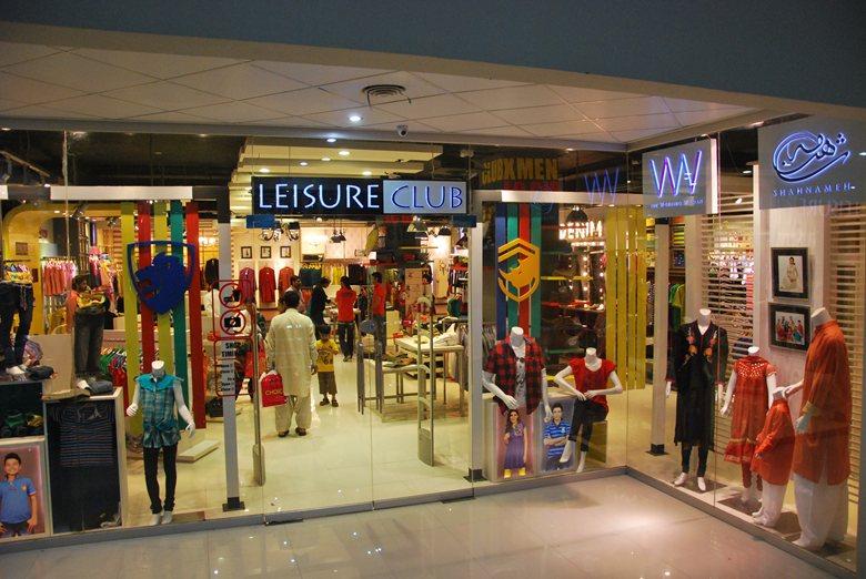 Retail Shop of LEISURE CLUB by SEHAR HASSAN & MAJID ALI