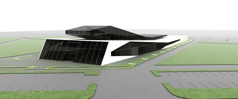 Concorso di idee per la progettazione di un capannone industriale in Carpi – Modena.