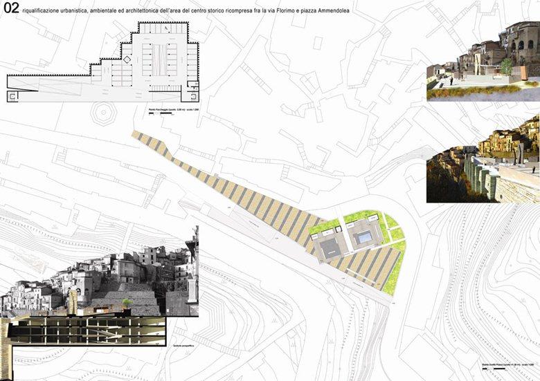 Completamento ed integrazione urbanistica delle opere di consolidamento realizzate lungo la via Flor