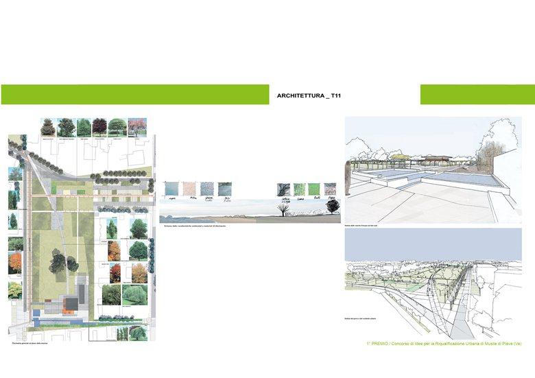 Concorso di Riqualificazione Urbana del Centro di Musile di Piave