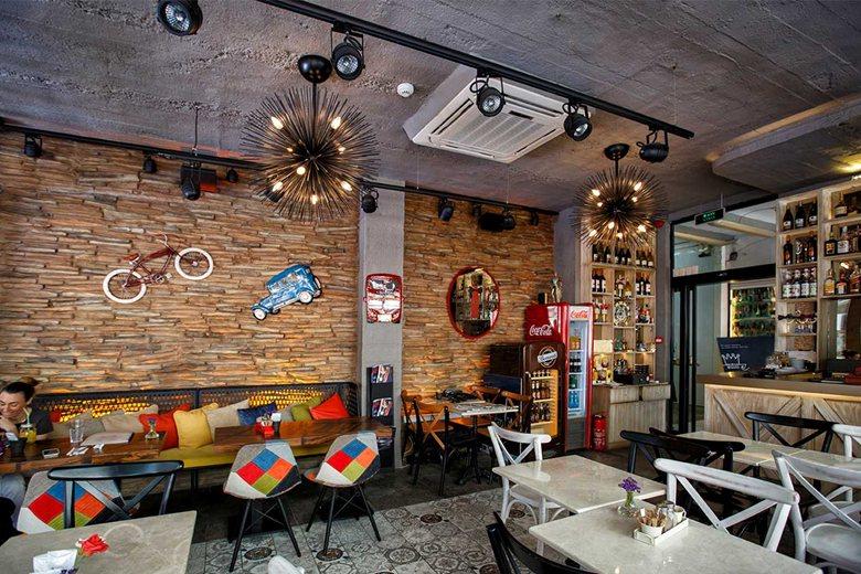 Cafe Interior Wall Decoration
