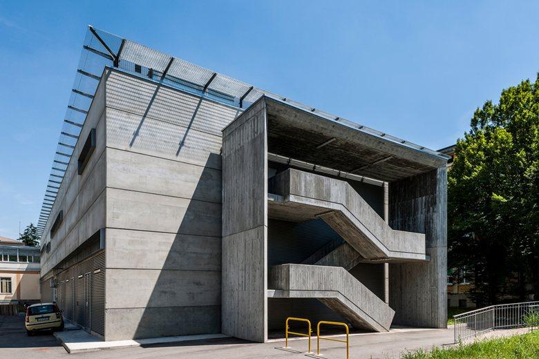Nuovo blocco operatorio di Casale Monferrato Architettura GSTUDIO
