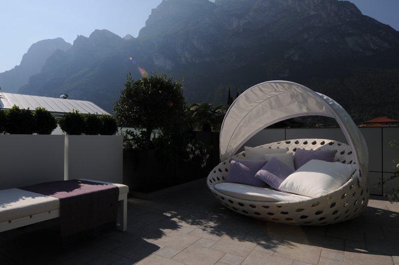 Attico con terrazza a Riva del Garda