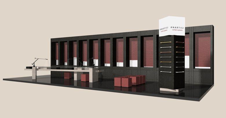 Exhibition Stand Proposal : Wael mckee u creative art director u exhibition stand bmb group