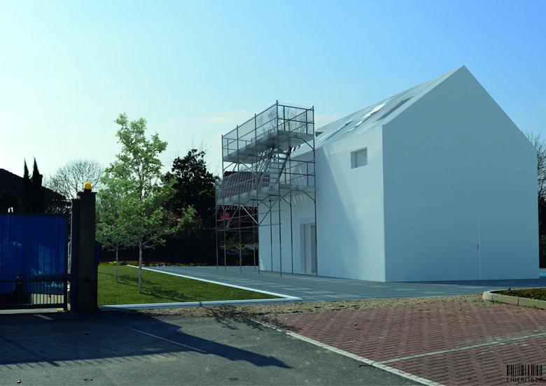 Scaffolding House